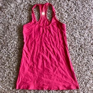 Lululemon Cool Racerback light reddish pink 6